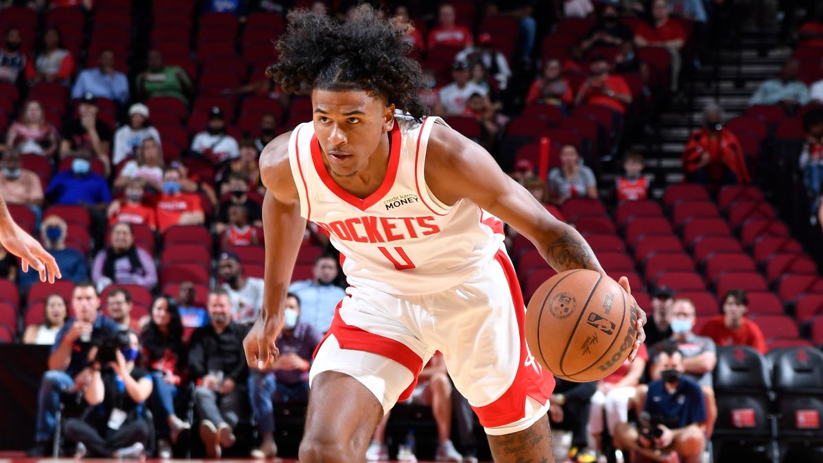 Houston Rockets NBA Win Total Odds & Pick: Can Jalen Green Speed Up Houston's Rebuild? article feature image