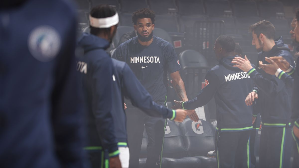 Minnesota Timberwolves NBA Win Total Odds & Pick: Is the Tide Turning for Karl-Anthony Towns? article feature image