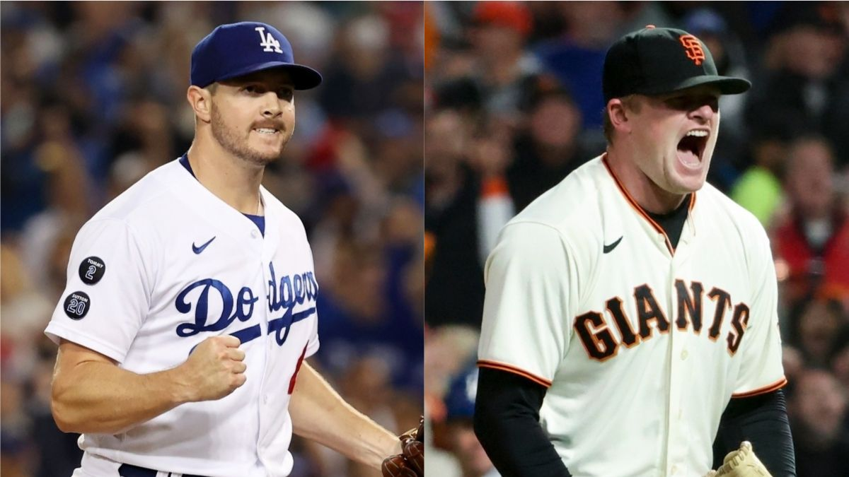 Dodgers vs. Giants Odds, Promo: Bet $20, Win $205 on a Corey Knebel or Logan Webb Strikeout! article feature image