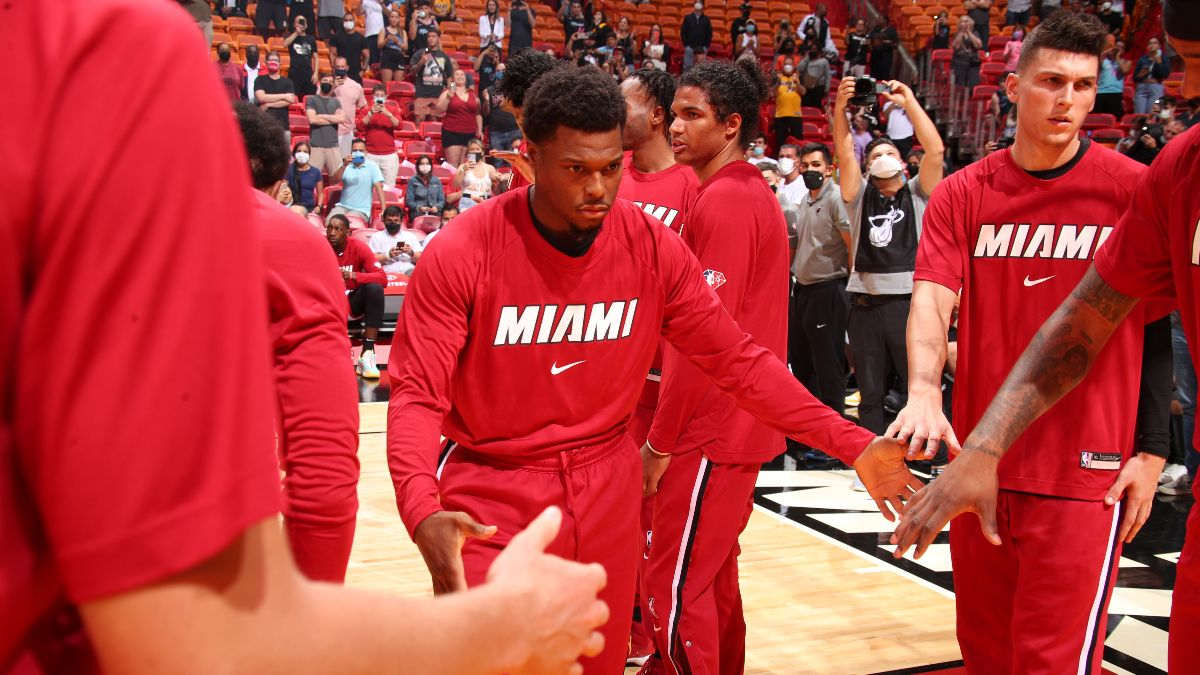 Miami Heat NBA Win Total Odds & Pick: Can Miami Be Elite With Kyle Lowry on Board? article feature image