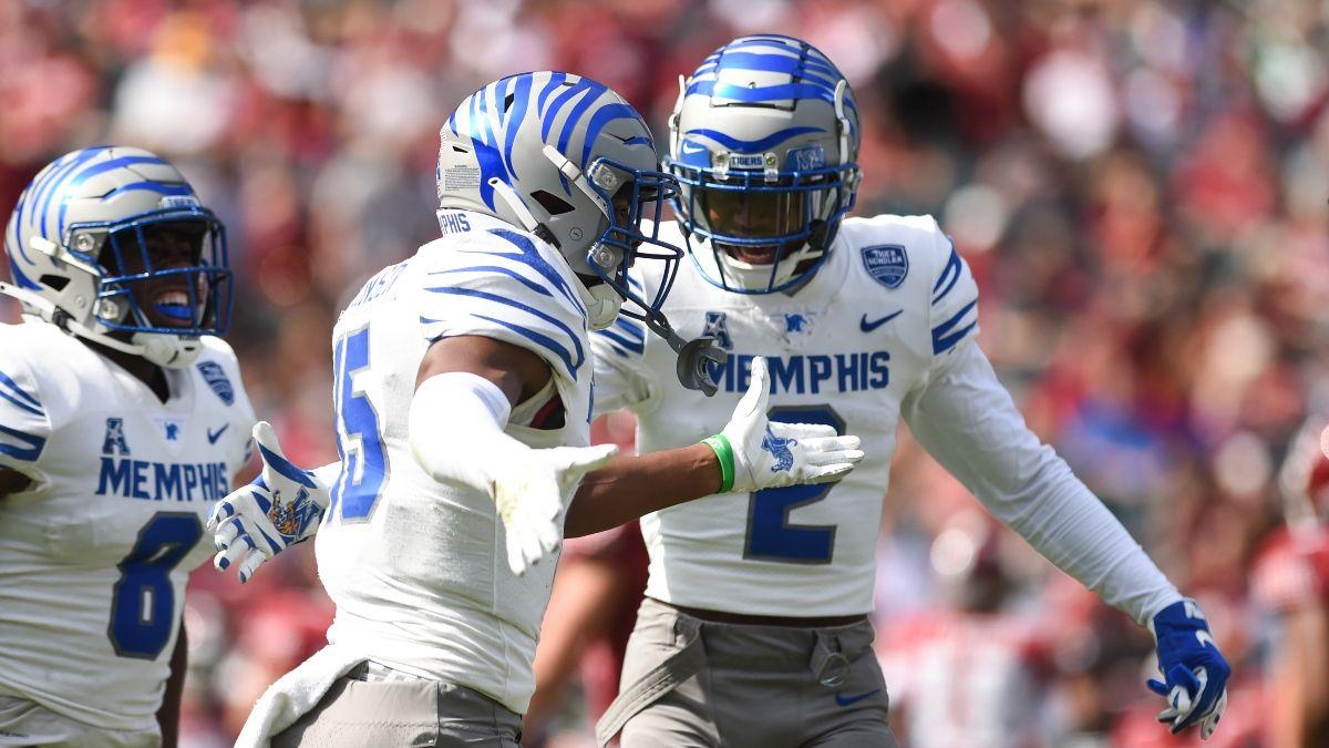 Memphis vs. Navy Odds, Promo: Bet $1, Win $100 if Memphis Scores a TD! article feature image