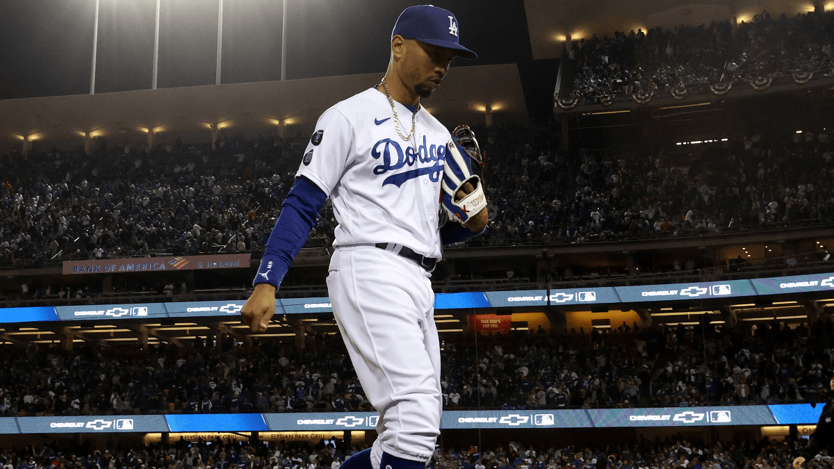 Dodgers vs. Giants Game 5 Prop Bets: Mookie Betts & Logan Webb Lead Most Popular Plays article feature image