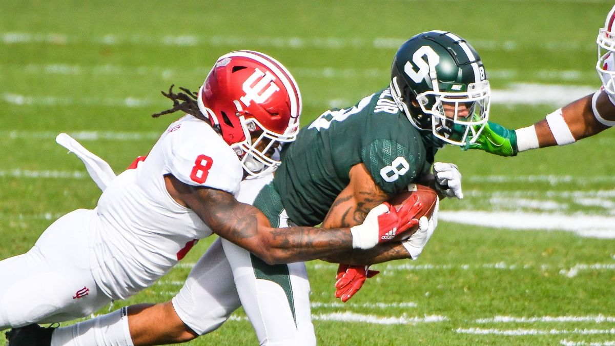Michigan State vs. Indiana Odds, Promo: Bet $25, Win $125 if Either Team Scores a TD! article feature image