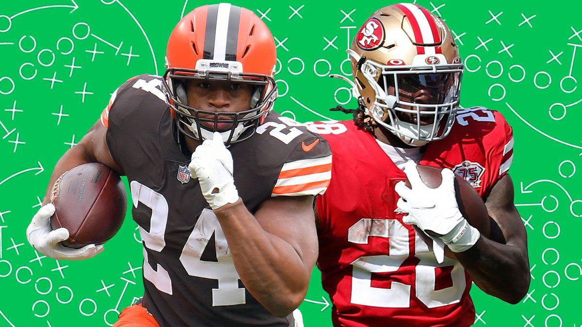 Fantasy Football Buy Low, Sell High: Week 5 Trade Targets, Including Nick Chubb, Alvin Kamara & Trey Sermon article feature image