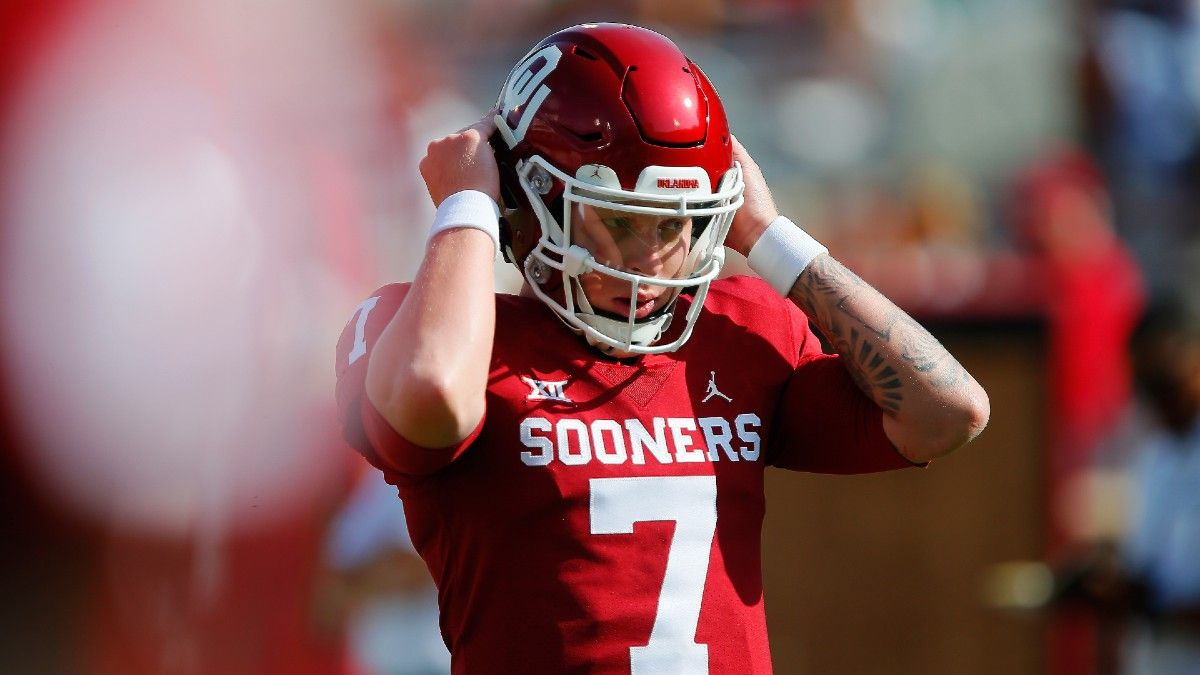 Oklahoma vs. Texas Odds & Picks for Week 6: How to Bet Saturday's College Football Rivalry Game article feature image