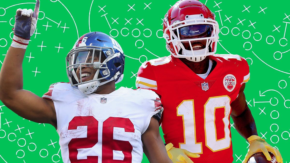 Fantasy Football Rankings & Final Tiers For QBs, RBs, WRs, TEs, Kickers & Defenses In Week 5 article feature image
