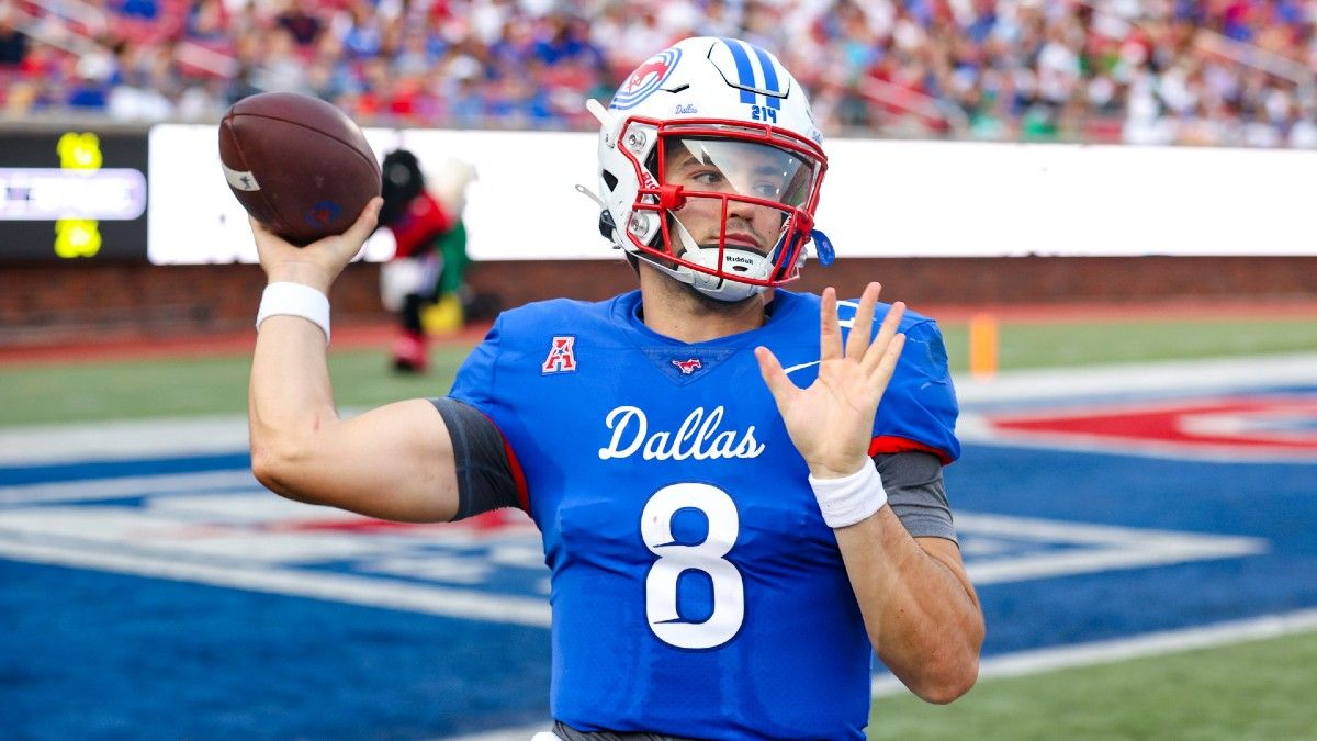 College Football Odds, Picks, Predictions for SMU vs. Navy: Mustangs Have Been Money in This Spot article feature image
