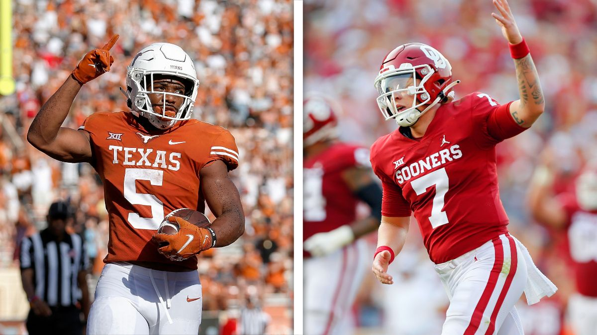 Red River Rivalry Odds & Picks: Best Bets for Saturday's Oklahoma vs. Texas Game article feature image