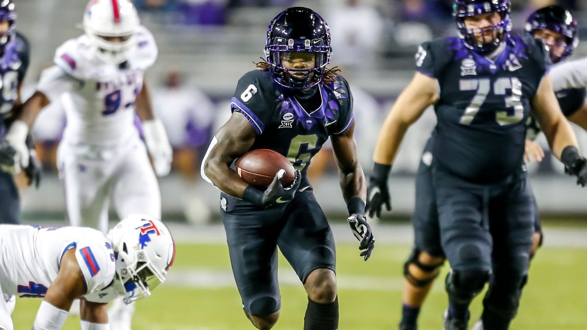 TCU vs. Texas Tech Odds, Picks: The Moneyline Bet to Make for Saturday's Big 12 Battle (Oct. 9) article feature image