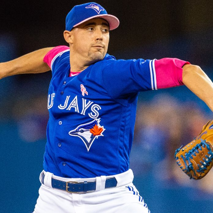 online retailer 6dcea e40b9 Will Blue Jays' Aaron Sanchez Snap Near-Historic Losing ...