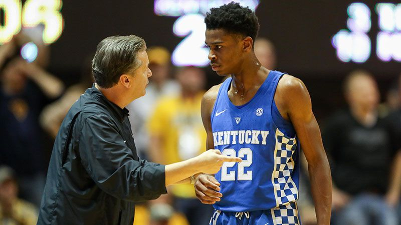 Kentucky Wildcats Basketball 2018 Sec Matchups Revealed: College Basketball Betting Saturday Afternoon Alabama