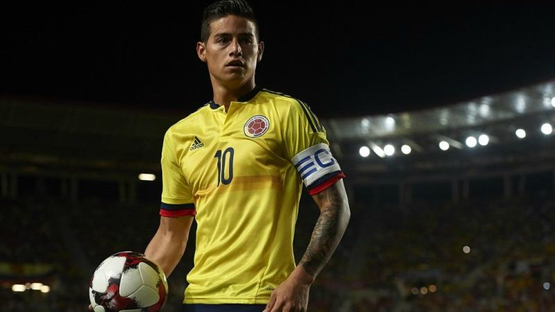 pretty nice 0aaf9 00409 World Cup Betting: Colombia, James Rodriguez Odds and Stats ...