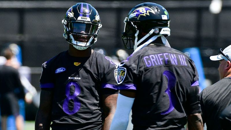 online store 4a21a 0c9bb Redskins vs. Ravens Preseason Betting Odds: Lamar Jackson ...