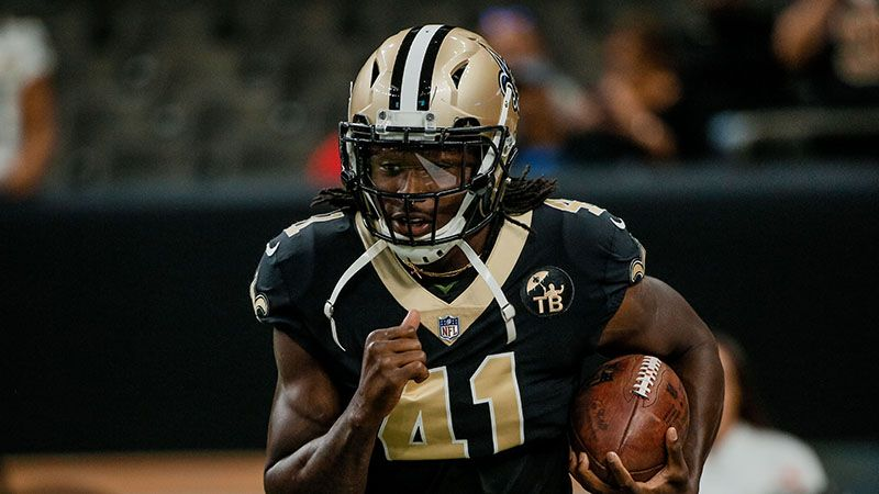 wholesale dealer dce7d f3e3a Alvin Kamara Fantasy Football Rankings, 2019 Projections ...