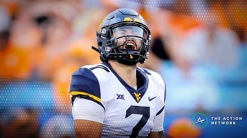 check out f6779 c3542 Oddsmakers Adjust to Will Grier's Absence in the Camping ...