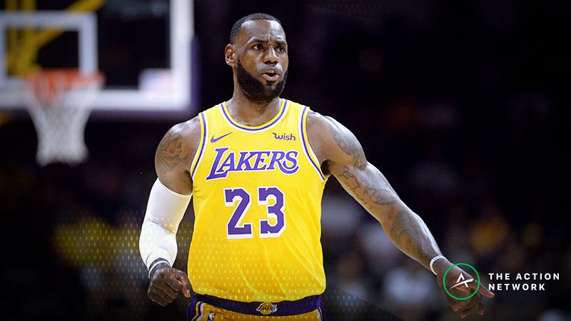 099d35a4d61 Sights and Sounds From LeBron James  Los Angeles Lakers Debut article  feature image