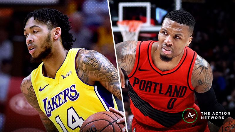 c249318e2a6b Lakers-Blazers Betting Preview  Is There Value on LeBron as an Underdog   article