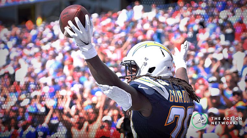 Fantasy Football Workload Data for All 32 NFL Teams Entering Week 5