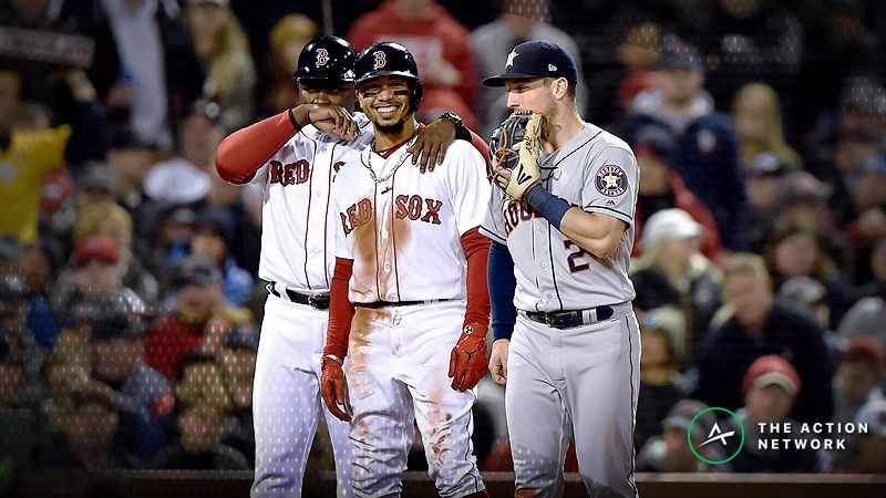 How Sharps Are Betting Red Sox-Astros Game 3 of the ALCS