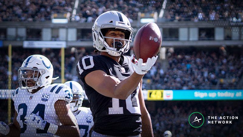 meet 3b871 f9a70 NFL Week 11 Fantasy WR Breakdown: Play Seth Roberts in Cash ...