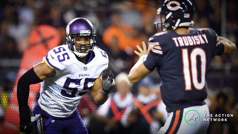 Week 11 NFL Betting Market  Bears-Vikings Bouncing Around Key Number d478dc5df