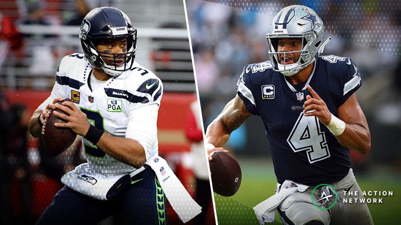 seahawks cowboys betting odds opening spread trends for nfc wild