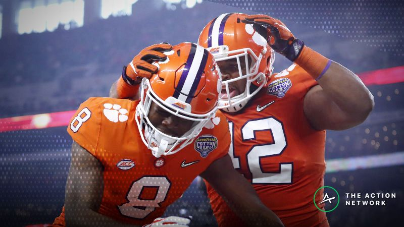 College Football National Championship Betting Odds Opening Line