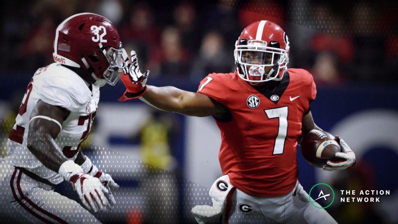 2019 20 National Championship Odds Alabama Clemson Ohio State