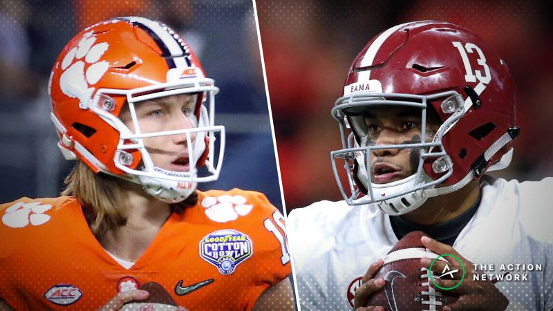 Alabama Clemson Betting Odds Tracking Live Spread Moves For 2019
