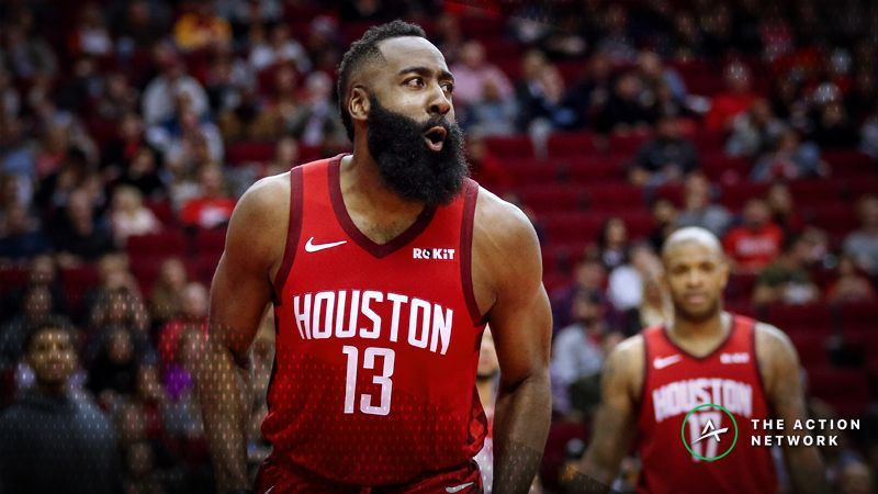 109a4a10eebf NBA MVP Odds  James Harden Now Favored After 44-point Triple-Double ...