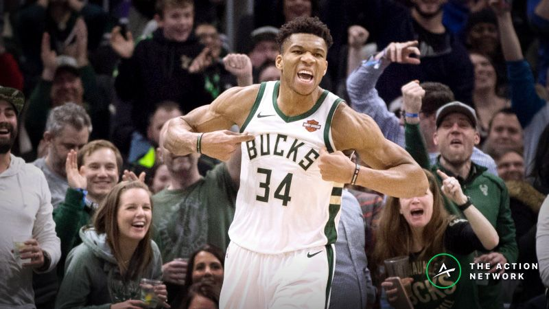 0b75c2cc60dd 2018-19 NBA MVP Odds  Giannis Overtakes Harden as Heavy Favorite article  feature image