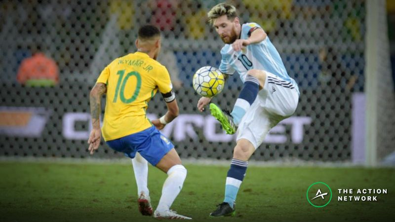 ae738393b 2019 Copa America Betting Odds  Brazil and Argentina Early Favorites  article feature image. Soccer