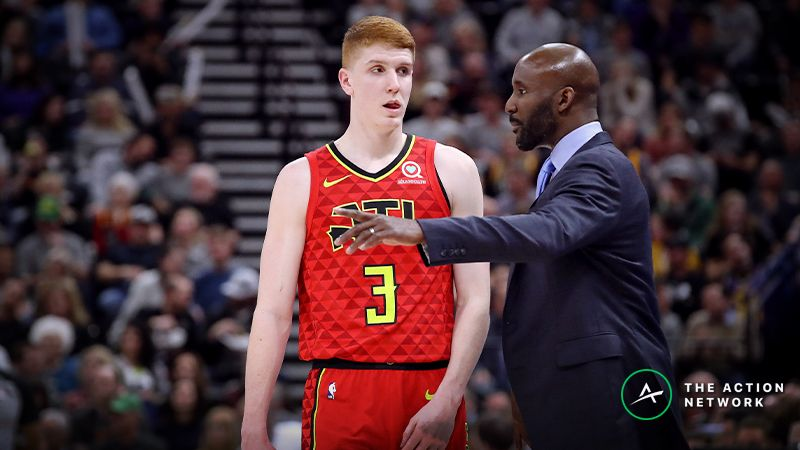 Raybon s Favorite NBA Props for Monday  Kevin Huerter Over Under 11.5  Points   b5f608115