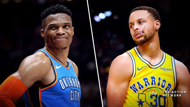 the latest d2c2a 42135 Warriors-Thunder Betting Guide: Can Golden State Pull off ...