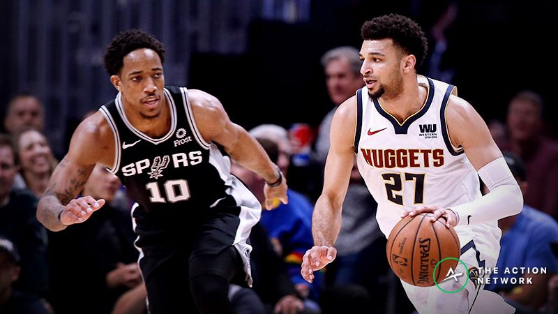 e0ab536d3275 Spurs vs. Nuggets Game 5 Betting Odds