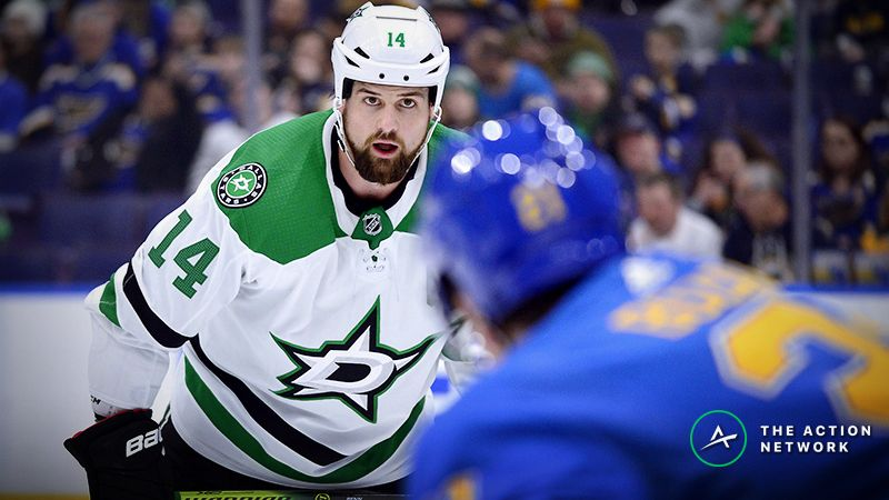 Blues vs. Stars Game 1 Betting Odds, Preview: Two Great Defenses Tangle article feature image