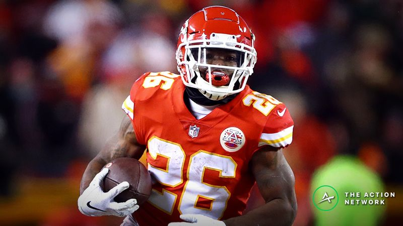 separation shoes 51656 251a5 Is Chiefs RB Damien Williams Undervalued in Fantasy Football ...