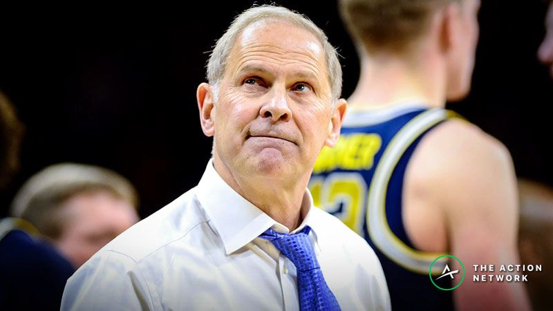 Stuckey: Mourning College Basketball's Loss of John Beilein, A Bettor's Favorite Coach article feature image