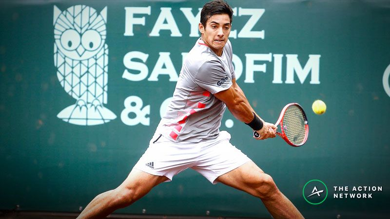 2019 ATP French Open Monday Betting Preview: Can Cristian Garin Continue His Hot Start to 2019? article feature image