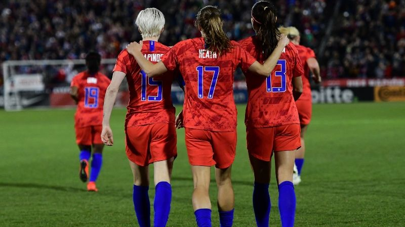 Women's World Cup 2019 Betting Odds, Preview: USA vs