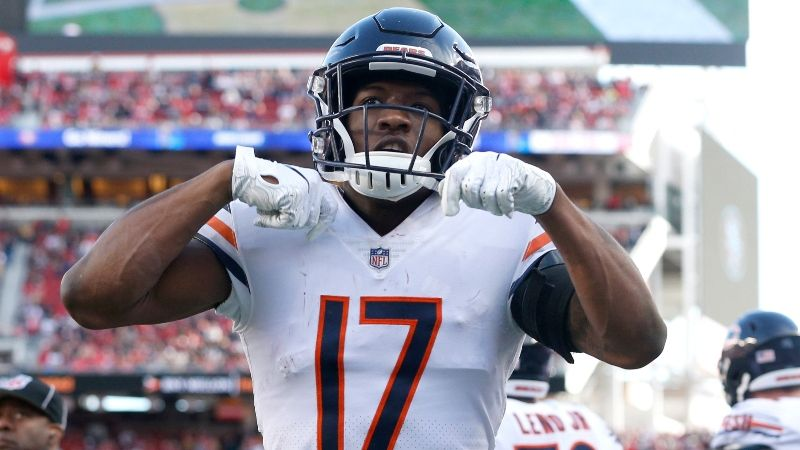 purchase cheap f1d49 ea61f Anthony Miller Fantasy Football Rankings, 2019 Projections ...