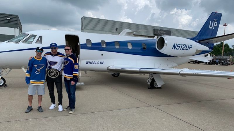 A Private Jet, Champagne, and $100K: Scott Berry's Journey to Cash His Stanley Cup Bet article feature image
