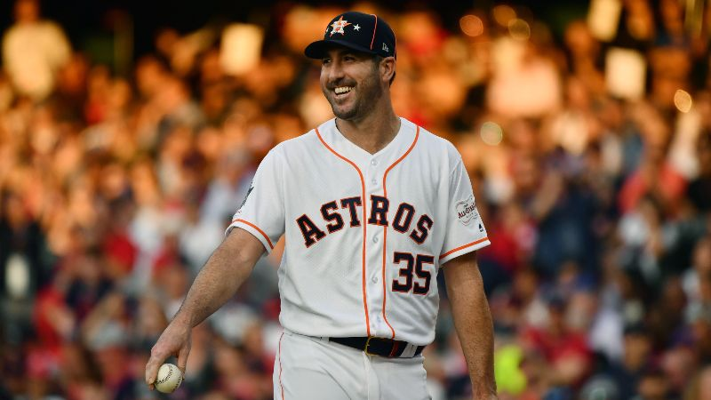 Justin Verlander, Astros Are Biggest Favorites Since 2005 Wednesday vs. Tigers article feature image