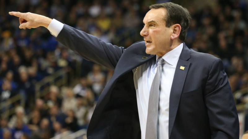 Betting on Coaches' Quirks: Sweaty Sean Miller, Cranky Coach K, and More! article feature image