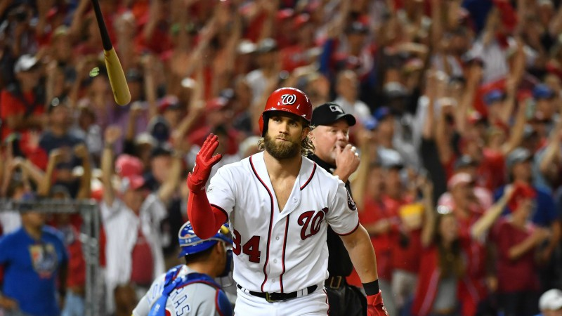 Home Run Derby 2018 Odds: Bryce Harper Favored to Win in D.C. article feature image
