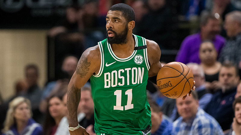 Betting Odds Forecast Kyrie Irving's 2019-20 NBA Team article feature image