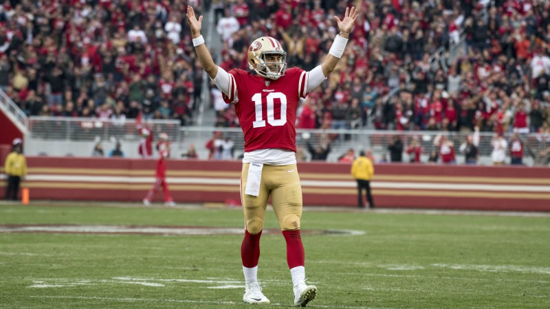 You Can Now Wager on Jimmy Garoppolo's Dating Life article feature image