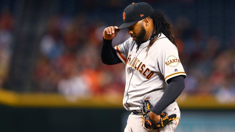 Thursday's MLB Over/Under: How Does Johnny Cueto's Return Impact Cardinals-Giants? article feature image