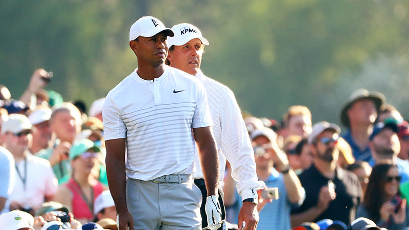 Tiger Woods vs. Phil Mickelson: Who Has The Edge in the $10 Million Match? article feature image