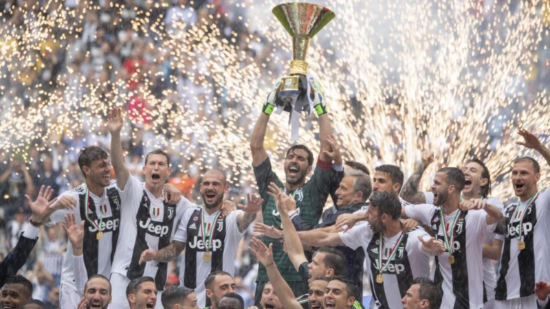 Can Anyone Dethrone Juventus at the Top of Italy's Serie A? article feature image